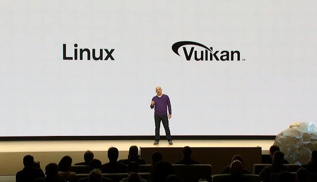 Linux e Vulkan Stadia