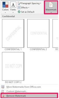 Cara Menghapus Tanda Air di PDF