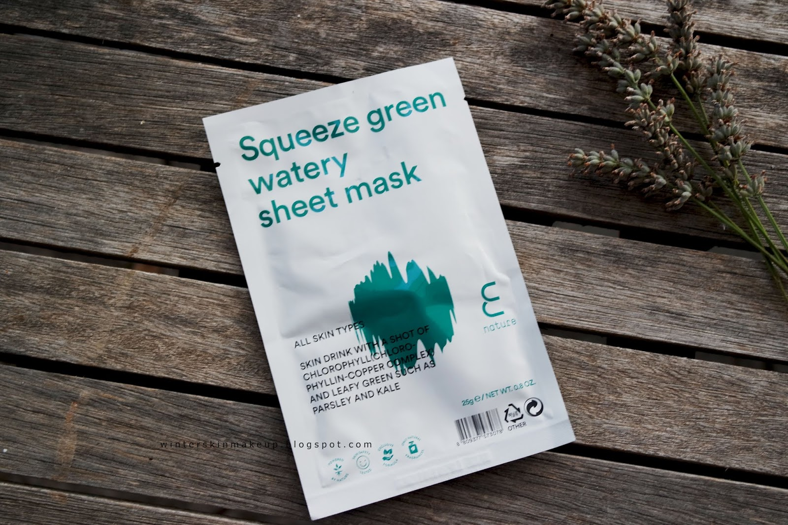 Enature Squeeze Green Watery Sheet Mask & Moringa Cleansing balm