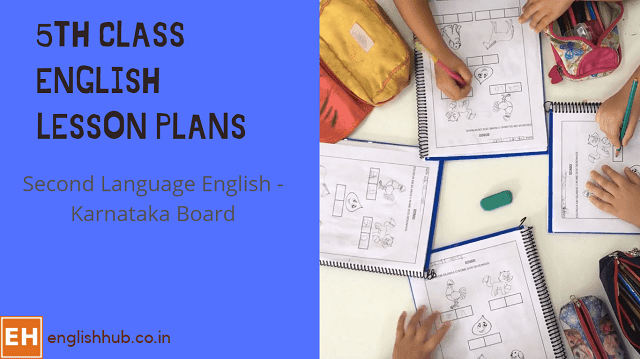 5th Class Second Language English Session/Lesson Plans
