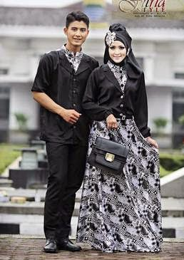 15 Model Baju Muslim Couple Tren Terbaru 2017