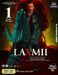 Laxmii Or Laxmmi Bomb Poster 12
