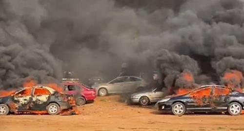 Police Arrest Thugs Who Set Cars Ablaze In Abuja
