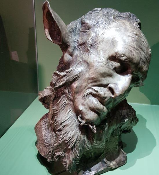 J. Joseph Carriès, Faune, 1893, bronze, Paris, musée d'Orsay