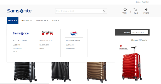 Samsonite Malaysia Brings its Store to Your Fingertips