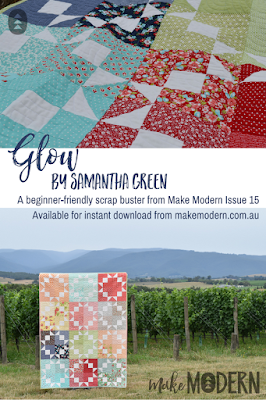 Make Modern Issue 17 Glow Samantha Green modern quilting