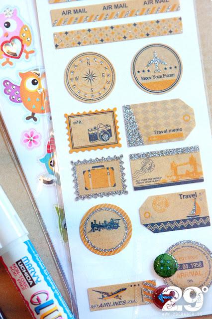 Tips - rolig paketinslagning (till t.ex. souvenirer)