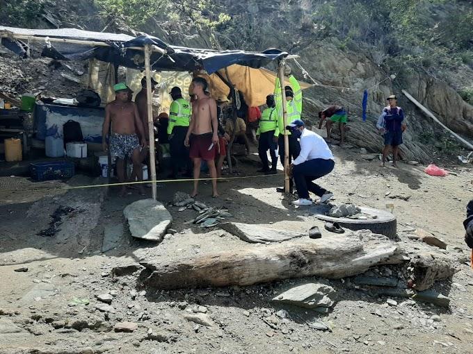 Gobierno Distrital recupera espacio público ocupado por construcciones rústicas en la vía hacia Inca Inca
