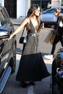 Eiza Gonzalez in Revealing Beautiful Gown Side    CEleBrity.co Exclusive 03