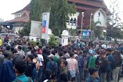 Demo Tolak Pengesahan RUU KUHP Dan RUU KPK di Depan Kantor DPRD NTB Rusuh