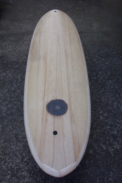 Wooden surfboards bottom shape is belly from the nose to about 18 in from of the fin box then there is a panel of v that flattens out for the last 6 of the tail pronofoot35fo Image collections