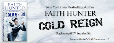 Review, Excerpt & Giveaway, Cold Reign, Faith Hunter, Bea's Book Nook