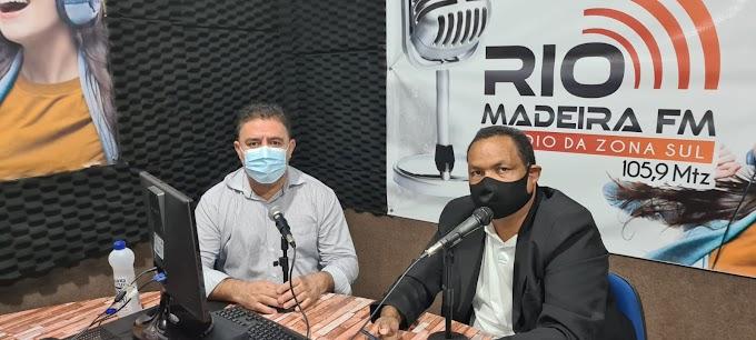 Fogaça presta contas de ações do mandato através da Radio Rio Madeira FM