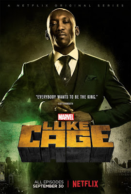 Marvel's Luke Cage Netflix Character Television Poster Set