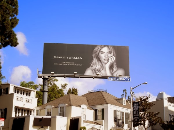 David Yurman Jewelry billboard Nov13