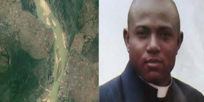 imagem do Padre nigeriano Charles Chukwukelue Ebele