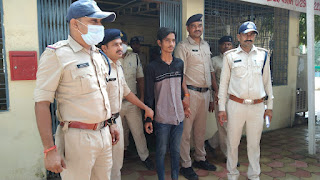 मनावर पुलिस को मिली बड़ी सफलता, सोने के आभूषण जप्त कर आरोपी को तत्काल किया गिरफ्तार