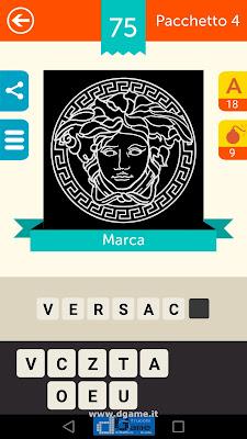 Iconica Italia Pop Logo Quiz soluzione pacchetto 4 livelli 75-75