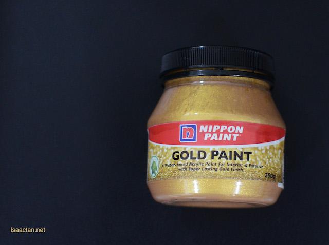 Nippon Paint Gold Paint