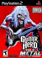 Guitar Hero True Metal Edition Version 2.0 (PS2)