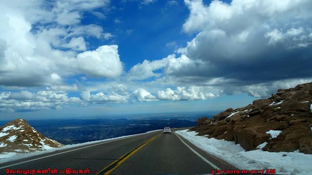 Scenic Pikes Peak Highway Drive