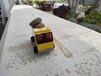 Lego camión amarillo