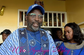 Congratulations in order as George Weah  is Announced the President-Elect Of Liberia