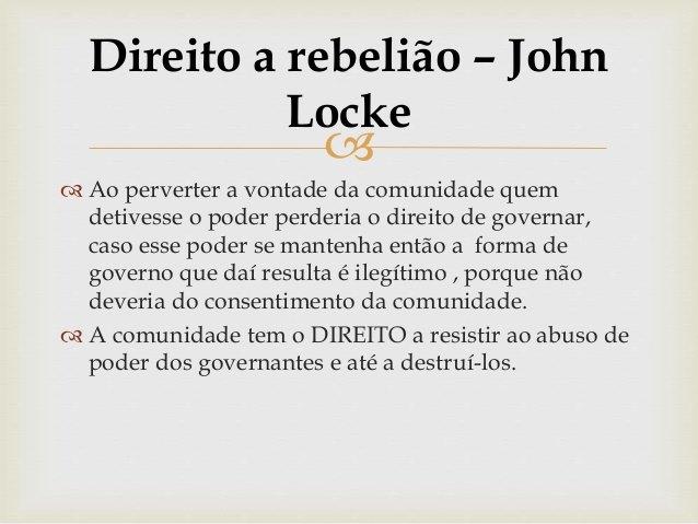Afirmei dias atrás,  que a verdadeira luta dos brasileiros não é contra o coronavírus, que vai passar... Mas entre civilização e barbárie.  Bolsonaro, no inacreditável discurso que fez há ontem (24), confirmou minhas palavras.  Tempos difíceis pela frente para a Nação brasileira, muito mais difíceis que imaginávamos!    Obs: John Locke (1632-1704) foi um filósofo inglês do final do século XVII e início do século XVIII, o principal representante do empirismo. Deixou grande contribuição como teórico do liberalismo político.