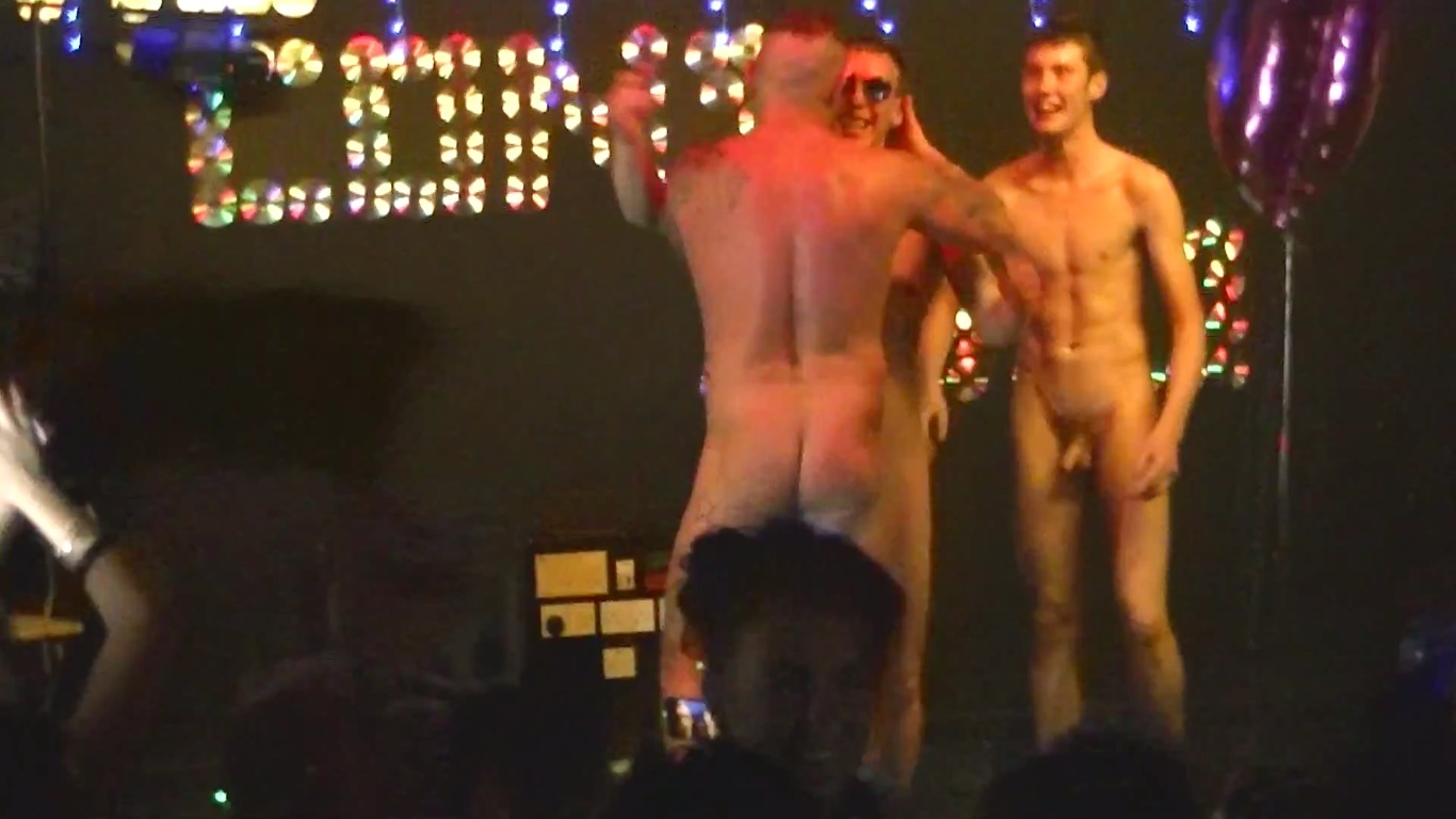 nude stage Boys on