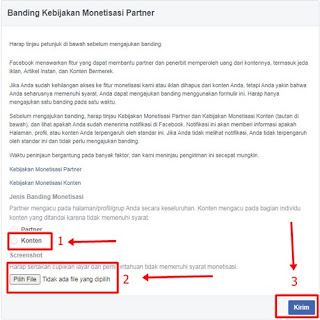 Cara Banding Monetisasi Video Facebook, 100% Work