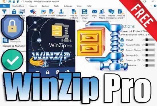 تحميل وتفعيل برنامج  WinZip Pro 25 عملاق ضغط وأرشفة الملفات وتشفيرها اخر اصدار