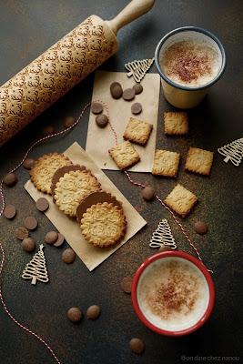 bredele , cookies , chocolat , farine épeautre , facile à faire