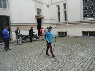 Дрогобыч. Внутренний дворик городской Ратуши