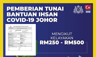 Permohonan Bantuan Ihsan COVID-19 Negeri Johor (Semakan Status)