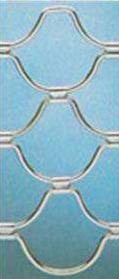 Varillas zincadas conchas