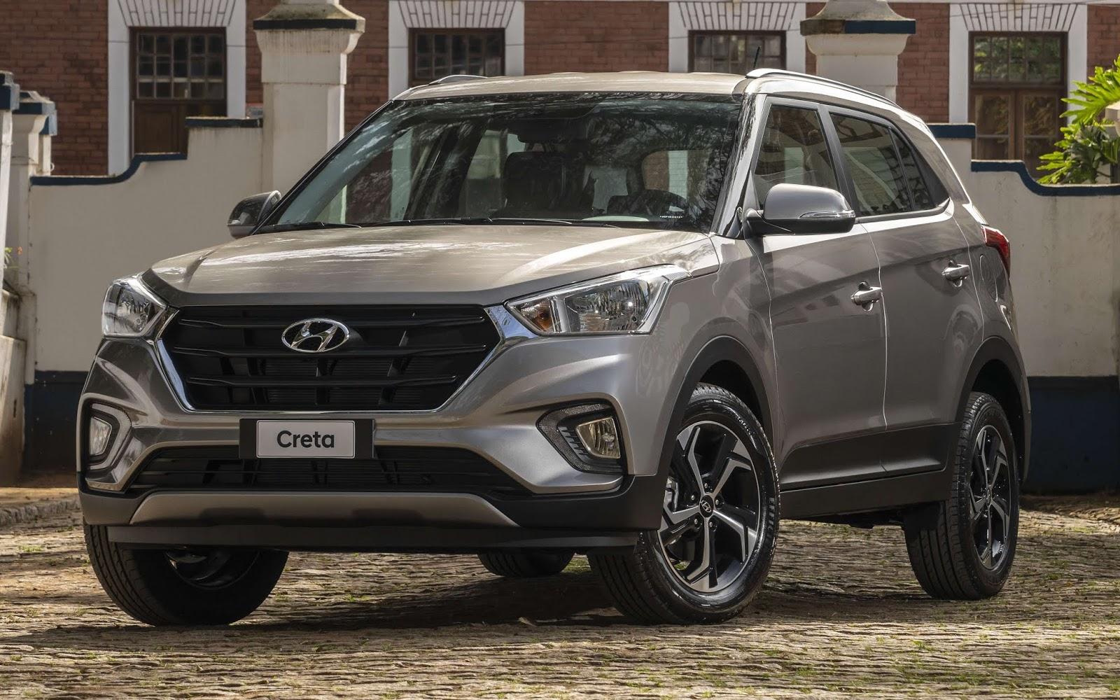 Hyundai Creta 2021 - 5º carro mais vendido do Brasil em maio