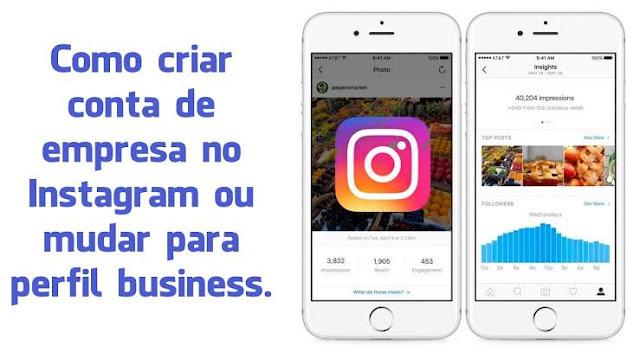 Como Criar Um Perfil Comercial no Instagram - Passo a Passo