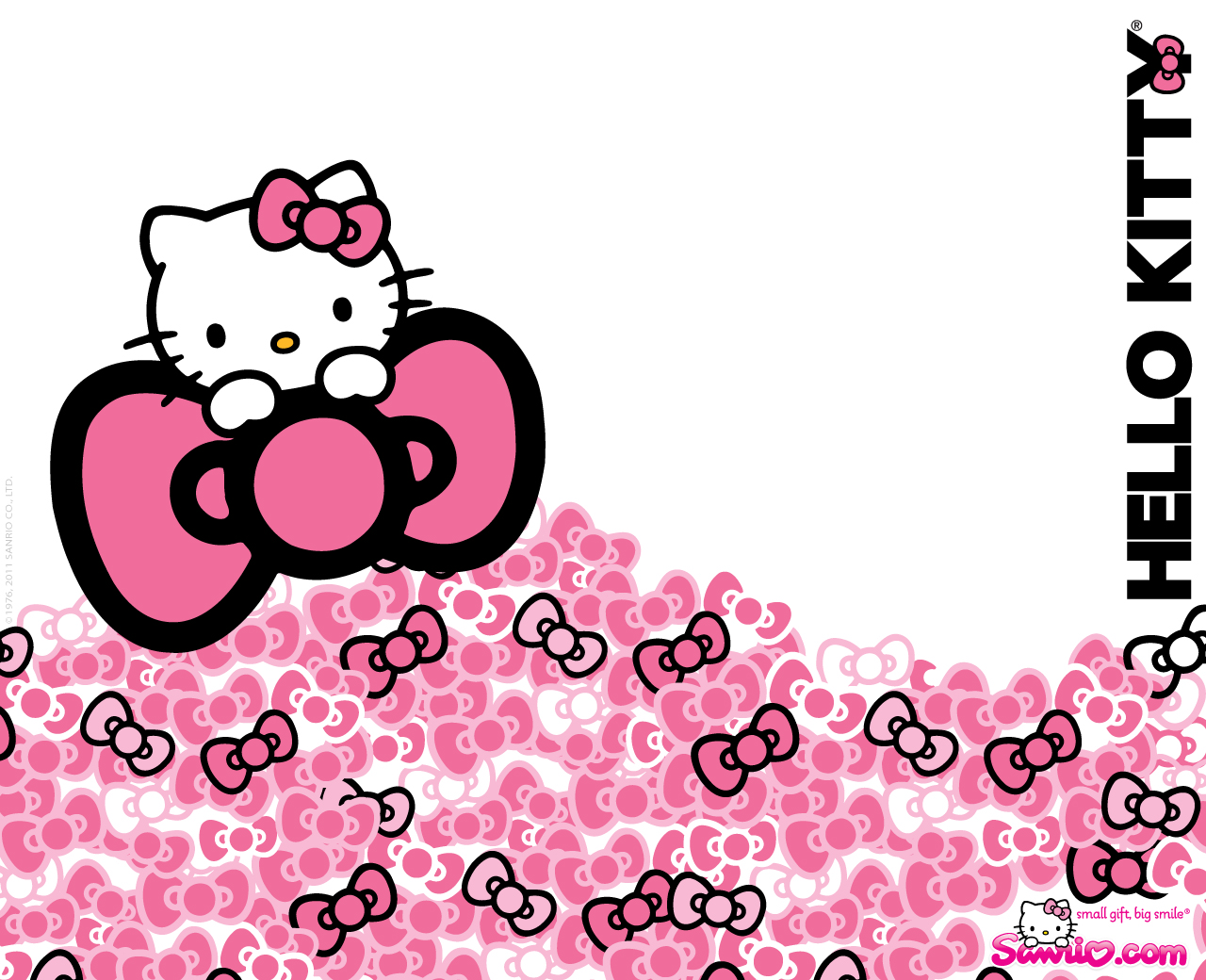DUNIA CHA Hello Kitty Background