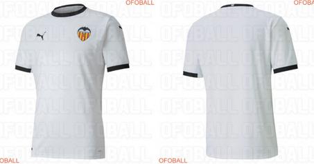 Kit calcio Valencia 2020 2021 prima predizione - maglie calcio 2020
