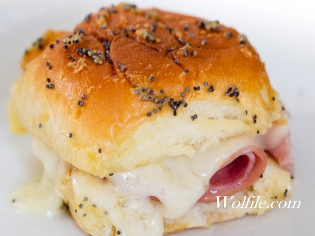 Ham And Cheese Sliders With Poppyseed Sauce Recipe