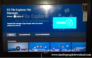 Search to find ES File Explorer.