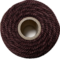 cotton cord brown