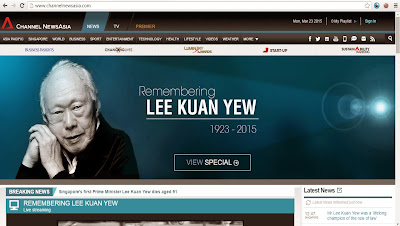 Remembering Mr Lee Kuan Yew 2015 Mar 23