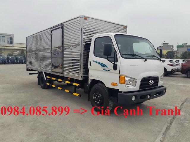 Xe tải Hyundai 7 tấn thùng kín 6m3