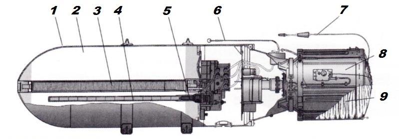 авіаційна парашутна донна міна АМД-2М