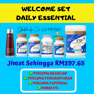 DAILY ESSENTIAL WELCOME SET
