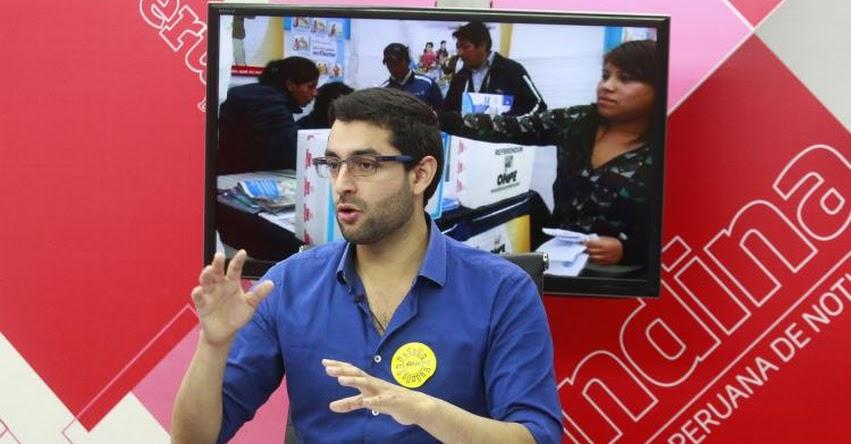 Hijo de Luis Castañeda Lossio, promete crear colegios solidarios con tarifa social
