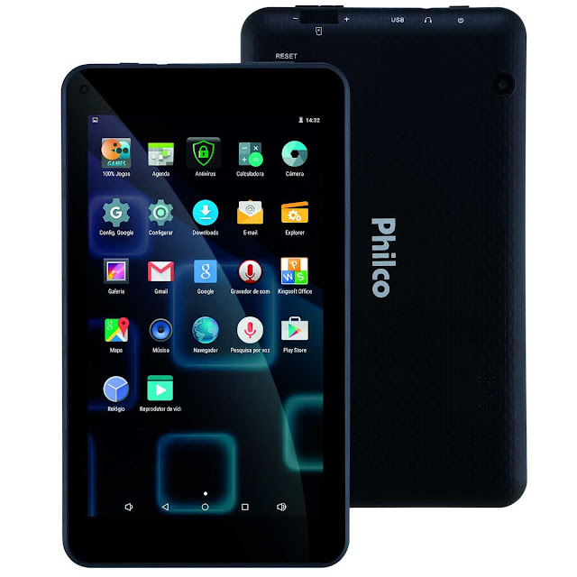 "Tablet 7"" WiFi da Philco Android 5.1"