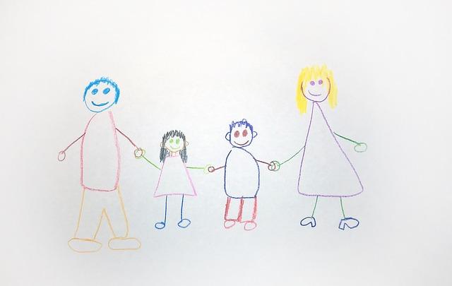 Como interpretar el Dibujo de la Familia en niños ~ Psicología al ...