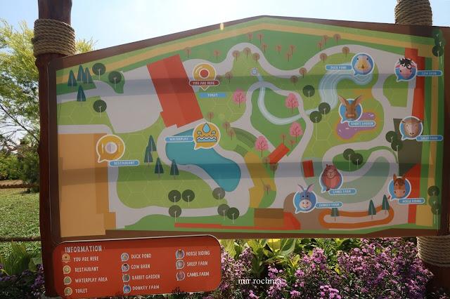 peta wisata di cimory prigen
